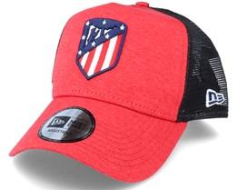 Atlético Madrid Shadow Tech 9Forty A-Frame Red/Black Trucker - New Era