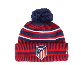 Atlético Madrid Jake Knit Athmad Scarlet/Navy Pom - New Era