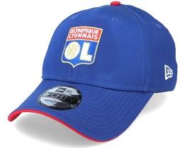 Lyon Basic OL 9Forty Blue/Red Adjustable - New Era
