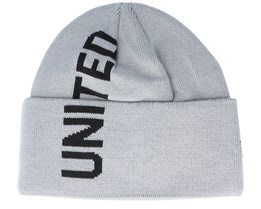 Manchester United Vert Wordmark Knit Gray/Black Cuff - New Era