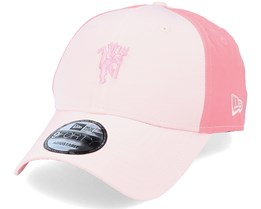 Manchester United Tonal Devil 9Forty Pink Adjustable - New Era