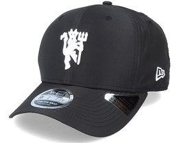 Manchester United Ripstop 9Fifty Stretch Snap Black/White Adjustable - New Era