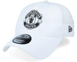 Manchester United Ripstop Dad Cap 9Twenty White Adjustable - New Era