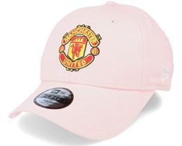 Kids Manchester United Basic 9Forty Pink Adjustable - New Era