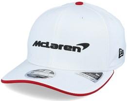 Mclaren Special Edition Bahrain Cap White Adjustable - Formula One