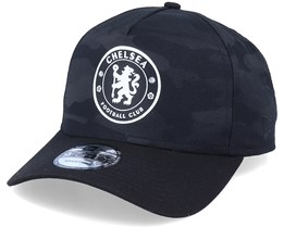Chelsea Camo 9Forty A-Frame Black Camo Adjustable - New Era