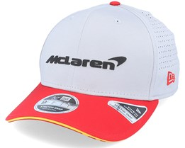Mclaren Carlos Sainz Driver 9Fifty Gray/Red Adjustable - Formula One