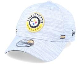 Pittsburgh Steelers NFL 20 On Field Road 39Thirty Grey Flexfit - New Era