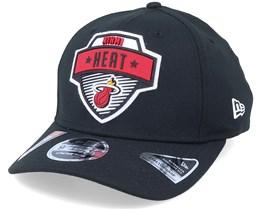 Miami Heat NBA 20 Tip Off 9Fifty Black Adjustable - New Era