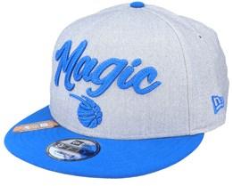 Orlando Magic NBA 20 Draft 9Fifty Heather Grey/Blue Snapback - New Era
