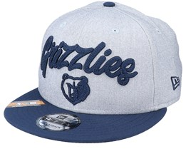 Memphis Grizzlies NBA 20 Draft 9Fifty Heather Grey/Navy Snapback - New Era