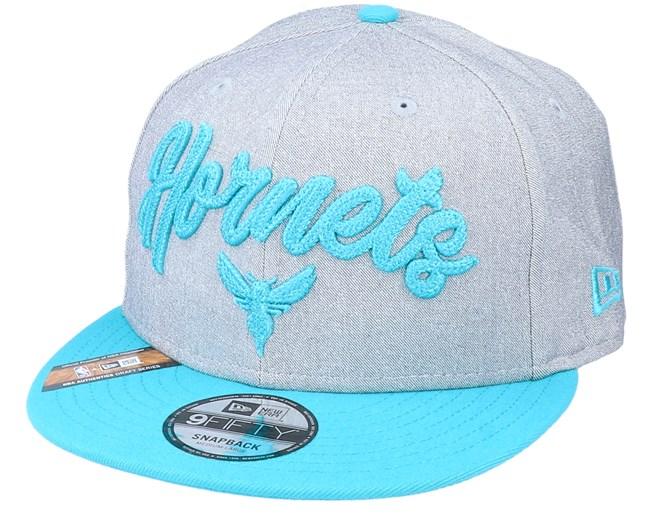 Charlotte Hornets Nba 20 Draft 9fifty Heather Grey Teal Snapback New Era Caps Hatstoreworld Com