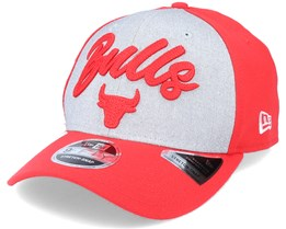 Chicago Bulls NBA 20 Draft 9Fifty Stretch Snap Grey/Red Adjustable - New Era