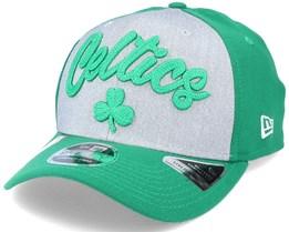Boston Celtics NBA 20 Draft 9Fifty Stretch Snap Grey/Green Adjustable - New Era