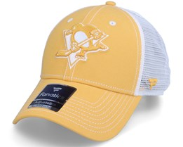 Pittsburgh Penguins Sport Resort Struct Yellow Gold/White Trucker - Fanatics