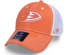 Anaheim Ducks Sport Resort Struct Trucker Dark Orange/White Trucker - Fanatics