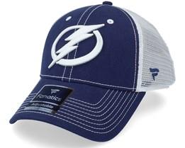 Tampa Bay Lightning Sport Resort Struc Trucker Blue Cobalt - Fanatics