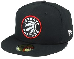 Hatstore Exclusive Toronto Raptors 59Fifty Black Fitted - New Era