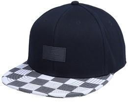 M Core Accessories Black White Checker Snapback - Vans