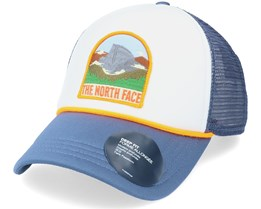Valley White/Vintage Blue Trucker - The North Face