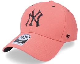 New York Yankees Aerial Mvp Island Red Adjustable - 47 Brand