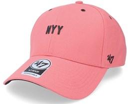 New York Yankees Aerial Script Mvp Island Red Adjustable - 47 Brand