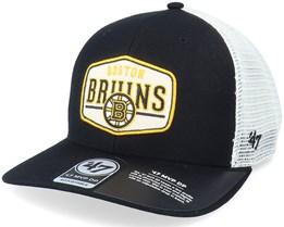 Boston Bruins Shumay Mvp Dp Black/White Trucker - 47 Brand