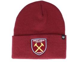 West Ham United Prize Fight Cardinal Cuff - 47 Brand