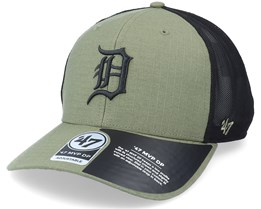 Detroit Tigers Grid Lock Mesh Mvp Dp Canopy/Black Trucker - 47 Brand