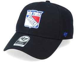 New York Rangers Mvp Black/White Adjustable - 47 Brand