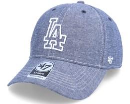 Los Angeles Dodgers Emery Mvp Navy Adjustable - 47 Brand