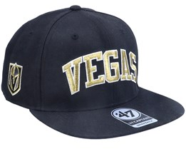 Vegas Golden Knights Kingswood Captain Black Snapback - 47 Brand