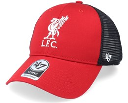 Liverpool FC Branson Mvp Red/Black Trucker - 47 Brand