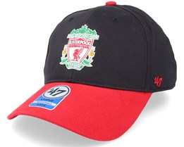 Kids Liverpool FC Short Stack Mvp Black/Red Adjustable - 47 Brand
