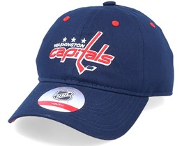 Kids Washington Capitals Team Slouch Dark Blue Dad Cap - Outerstuff