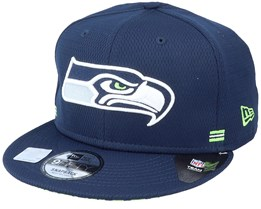 Seattle Seahawks NFL 20 Side Lines Home Em 9Fifty OTC Snapback - New Era