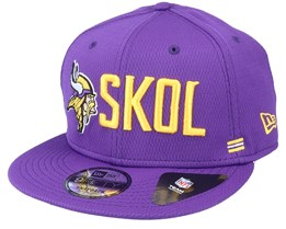 Minnesota Vikings NFL 20 Side Lines Home Em 9Fifty OTC Purple Snapback - New Era