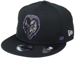 Baltimore Ravens NFL 20 Side Lines Home Em 9Fifty OTC Snapback - New Era