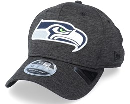 Seattle Seahawks Total Shadow Tech 9Fifty Black Adjustable - New Era
