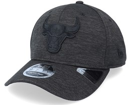Chicago Bulls Tonal Team 9Fifty Heather Black Adjustable - New Era
