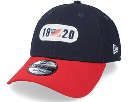 Tri Colour 9Forty Navy/Red Adjustable - New Era