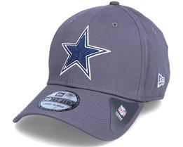 Dallas Cowboys NFL Team 39Thirty Dark Grey Flexfit - New Era