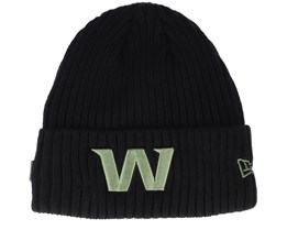 Washington Football Team NFL 20 Knit Black Cuff - New Era