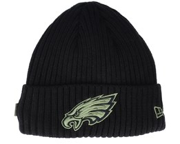 Philadelphia Eagles Salute To Service NFL 20 Knit Black Cuff - New Era