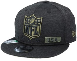 Salute To Service NFL 20 Heather Black Snapback - New Era