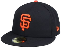 San Francisco Giants Authentic On-Field 59Fifty Black Fitted - New Era
