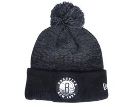 Brooklyn Nets Brooklyn Nets Knit Medium Nba20 Back Half - New Era
