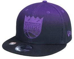 Sacramento Kings 9FIFTY NBA20 Back Half Black/Purple Snapback - New Era