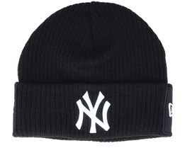 Hatstore Exclusive x New York Yankees Short Knit Thin Black/White Cuff - New Era