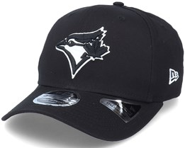 Hatstore Exclusive x Toronto Blue Jays Essential 9Fifty Stretch Black Adjustable - New Era